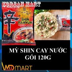 MỲ SHIN RAMYUN CAY NƯỚC HÀN QUỐC GÓI 120G