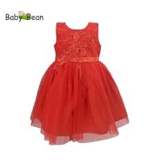 Đầm voan công chúa đính hạt bé gái BabyBean