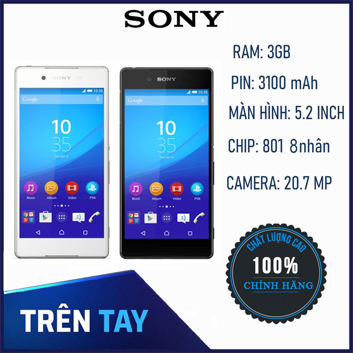 [Xả Hàng Tết] Điện Thoại Smartphone Sony Xperia Z4 ram 3G/32G – Hãng Phân Phối Chính Thức