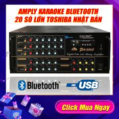 Amply 20 Sò Bluetooth Sân Khấu Karaoke Hội Thảo Gia Đình Cali.D&Y PA-506C