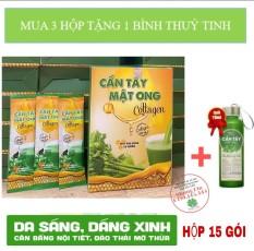 Cần tây mật ong Collagen Hộp 15 gói – giảm cân đẹp da đẹp dáng
