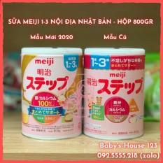 (Date 2022) Sữa Meiji 1-3 Nội Địa Nhật Bản – Hộp 800Gr