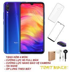 Điện thoại Xiaomi Redmi Note 7 (3GB/32GB) Camera Khủng 48MP+5MP – Hàng Nhập khẩu (Tặng kèm 4 món)