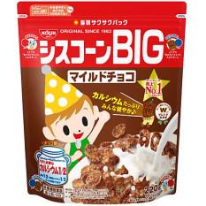 Ngũ cốc ăn sáng Nissin Nhật Bản socola 200g cho bé ăn dặm 18 tháng. Date 8/2021 – Sweet Baby House