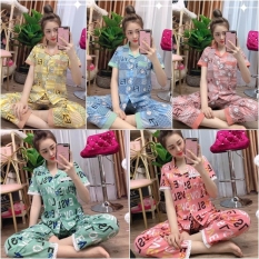 BIGSIZE 65kg đến 75kg Đồ Bộ Pijama Nữ Đẹp – Mẫu Chữ Lụa Hàn Mịn Cam Kết Hình Thật 100%