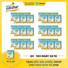[GIẢM 20K+TẶNG LỐC NƯỚC 80K ĐƠN 299K] Thùng 36 hộp sữa nước Grow 110ml