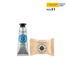 Bộ Kem Dưỡng Da Tay L'Occitane Bơ Đậu Mỡ 10ml& Xà phòng L'Occitane Bơ Đậu Mỡ 25gr