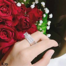 Nhẫn kim cương nhân tạo
