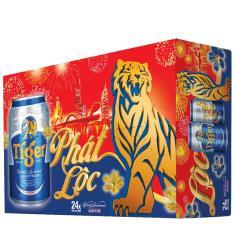 Thùng bia Tiger 24 lon 330ml