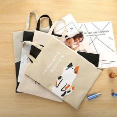 Túi đựng tài liệu hình mèo dễ thương, túi đựng tài liệu hình mèo kiểu dáng xinh xắn