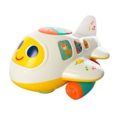 Máy bay có nhạc và đèn PEEKABOO 6103