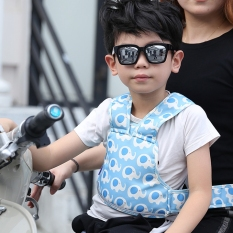 Đai đi xe máy an toàn cho bé yêu Bestbaby có dải phản quang dùng để trong trời tối