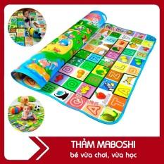 Thảm chơi 2 mặt cho bé Maboshi 1m8 x 2m – Thảm xốp trải sàn gấp gọn Maboshi