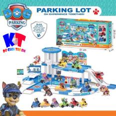 Trạm Đỗ Xe Tuần Tra Chó Cứu Hộ – Parking Lot Paw Patrol