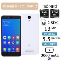 Điện thoại cảm ứng Xiaomi Redmi Note 2 ( 2GB/16GB ) – Màn hình 5.5Inch – Lướt wed tiktok tốt