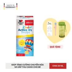 Siro bổ sung Vitamin D3, tăng đề kháng cho trẻ Doppelherz Aktiv Kinder Active D3 Drops (Chai 30ml)