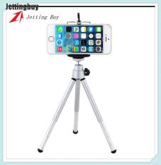 Jetting Buy giá đỡ điện thoại mini 3 chân có thể xoay 360 độ bằng hợp kim nhôm kèm đồ kẹp điện thoại – INTL