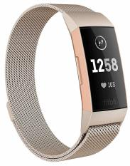 Dây Thép Milanese Loop Stainless Steel Cho Fitbit Charge 3