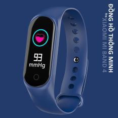 Vòng đeo tay thông minh smart band Theo dõi sức khỏe thể thao giấc ngủ nhịp tim