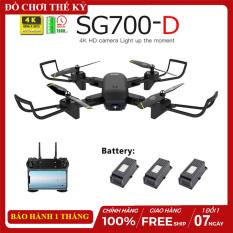 [Nhập ELMAR31 giảm 10% tối đa 200k đơn từ 99k]Flycam SG700 D Thế Hệ Mới Chụp Ảnh Bằng Cử Chỉ Video HD 720P 2 Camera 4K Cảm Biến Di Chuyển Theo Bàn Tay Truyền Hình Ảnh Trực Tiếp Về Điện Thoại