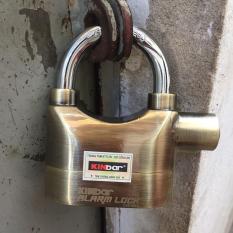 Ổ khóa chống trộm hú báo động Kinbar vàng
