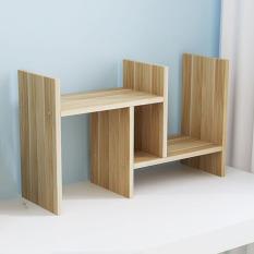 Kệ sách gỗ để bàn – Kệ gỗ đẹp để bàn làm việc – Giá kệ gỗ bàn học, bàn làm việc – Kệ gỗ để bàn dễ lắp ghép, nhiều ngăn, có thể thay đổi kích thước