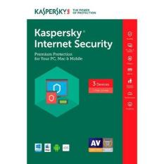 Phần Mềm Diệt Virus Kaspersky 3PC – Internet Sercurity 2018