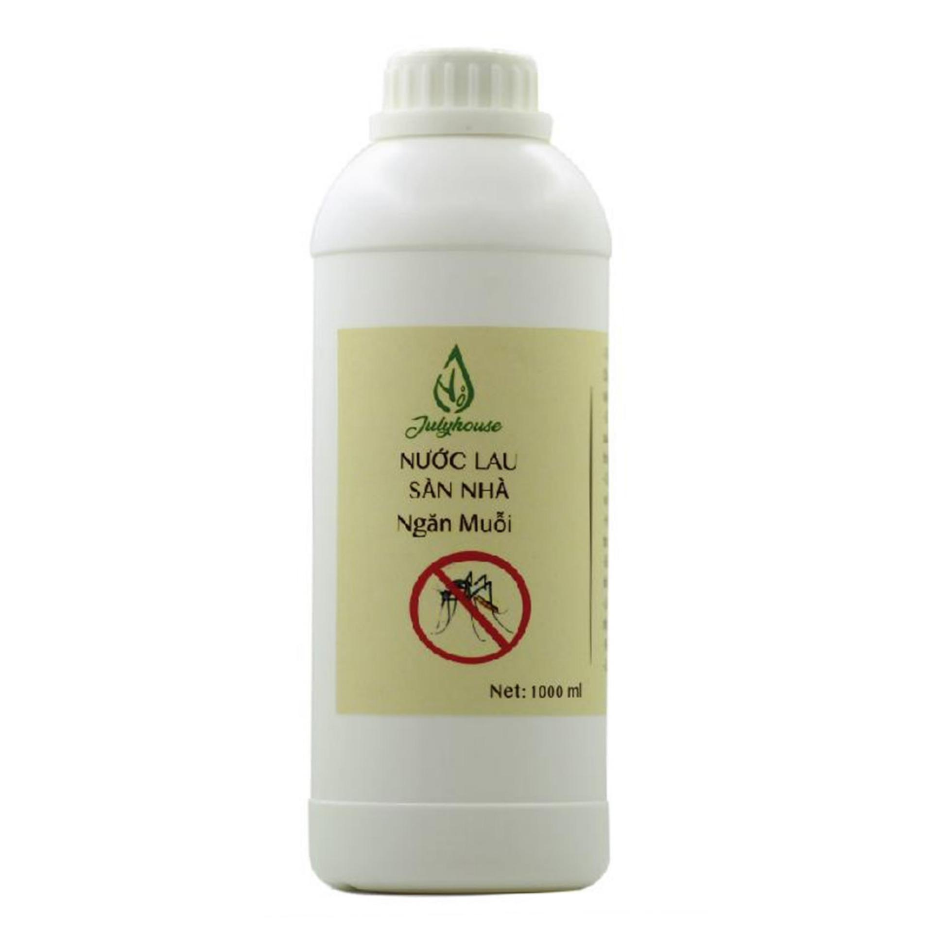 Nước lau sàn nhà tinh dầu 1000ml JULYHOUSE tinh dầu thiên nhiên, có tác dụng hiệu quả trong việc khử...