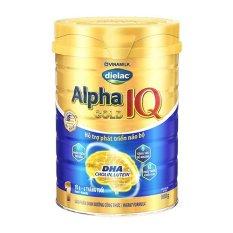 SỮA BỘT DIELAC ALPHA GOLD IQ 1 900G (CHO TRẺ TỪ 0 – 6 THÁNG TUỔI).