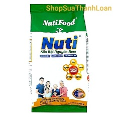 [HSD T2-2022] Sữa Bột Nguyên Kem Nutifood (túi 400g)