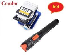 Dao cắt sợi quang FC-6S + Bút soi quang 10km cao cấp