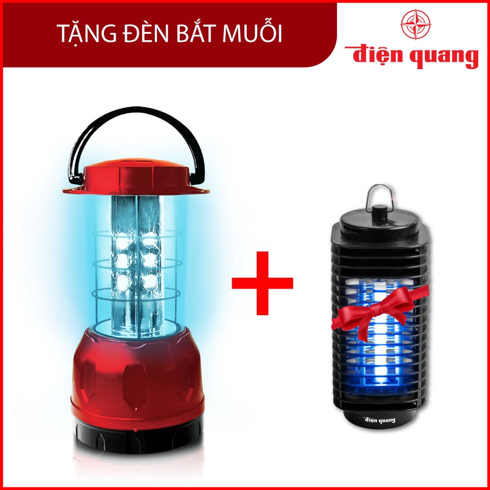 Đèn Led Diệt Khuẩn Điện Quang ĐQ PRL01 06UVC (6W, tia UVC, để bàn) TẶNG Đèn bắt muỗi Điện Quang ĐQ EML01 BL