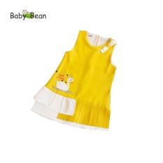 Đầm Đũi thêu Thiên Nga Xếp Ly bé gái BabyBean (20kg – 35kg)