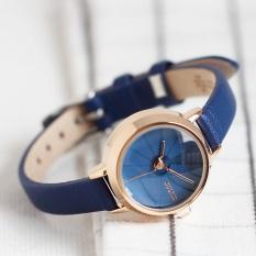 Đồng hồ nữ Julius Hàn Quốc JA-979D dây da (xanh)