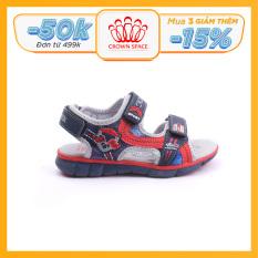 Dép sandal nam Crown Space dép quai hậu Crown UK sandal cho bé từ 2 đến 14 tuổi sandal size 26 đến 35 Da cao cấp, Đế trong lót da thật, Cao su tự nhiên nhẹ êm thoáng mát an toàn CRUK527