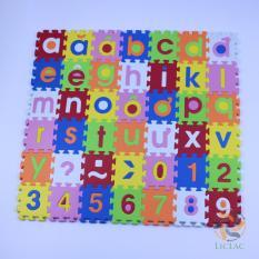 Miếng xốp lót sàn cho bé (42 miếng) gồm chữ cái và số đếm cho vui chơi và học tập