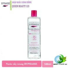 Nước Tẩy Trang BYPHASSE Solution Micerallaire Face 500ml