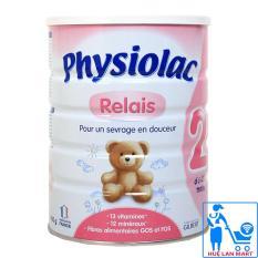 Sữa Bột Physiolac Relais 2 – Hộp 900g (Cho trẻ 6~12 tháng tuổi)