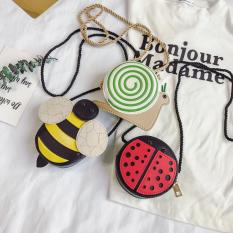 Túi đeo chéo hình động vật cho bé, túi cho bé + Tặng thẻ tích điểm nhận quà.
