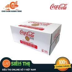 Thùng Nước ngọt có ga Coca-Cola Plus lon 330ml