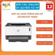 Máy in Laser trắng đen HP Neverstop Laser 1000w (Wifi) _ 4RY23A