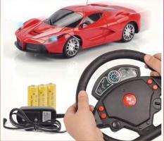 Xe ô tô điều khiển vô lăng cảm ứng pin sạc đầy đủ
