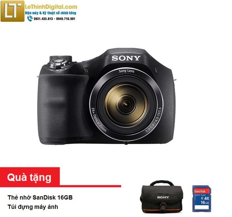 Máy ảnh KTS Sony Cybershot DSC-H300 20.1MP - Zoom quang học 35x- Hãng phân phối - Bảo hành chính hãng...