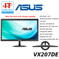 Màn Hình Asus VX207DE 19.5 Inch HD 1366×768 16:9