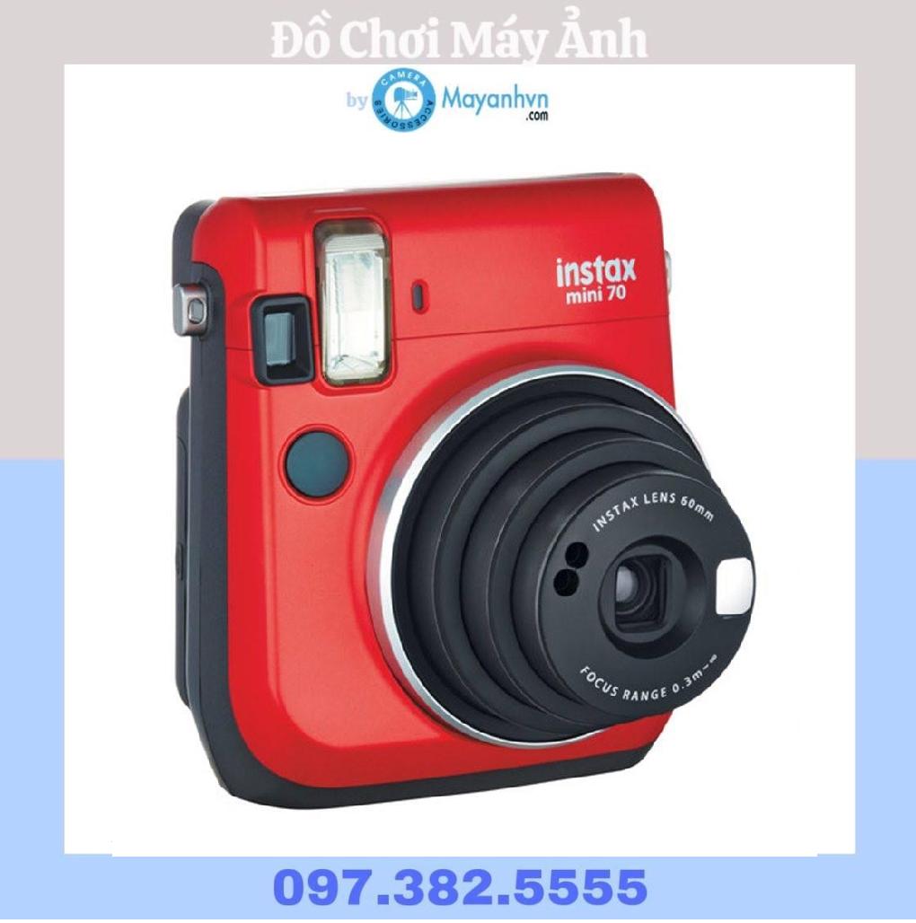 Máy ảnh Fujifilm Instax Mini 70 (phiên bản màu đỏ – Red)
