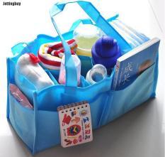 Túi đựng tã em bé Jettingbuy mang đi du lịch dành cho mẹ bỉm sữa có màu xanh và hồng – INTL