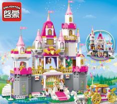 Lego 940 khối – Toà lâu đài của công chúa Leah và hoàng tử