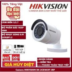 [BẢO HÀNH 5 năm] Camera HIKVISION DS-2CE16C0T-IRP 1.0Mp – Camera giám sát an ninh