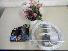 Đầu thu truyền hình số mặt đất VTC T201 tặng anten liền dây 15m xem miễn phí trọn đời
