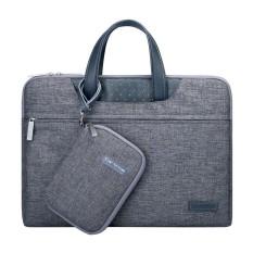 Túi Xách + Túi Đựng Sạc Cartinoe Cho Macbook – Laptop – Xám
